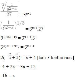 soal fungsi eksponen no 3-1
