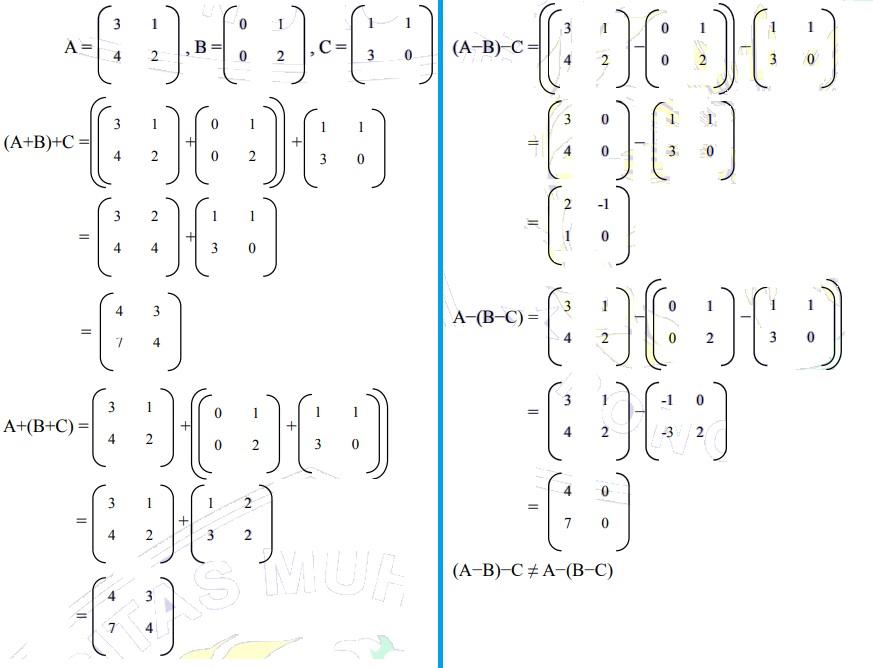 contoh soal matriks no 18-1