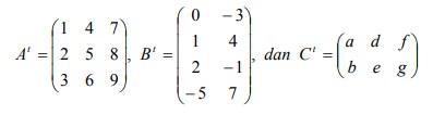 jawaban soal matriks no-23