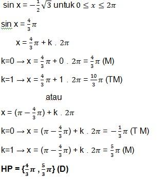 jawaban soal trigonometri 11