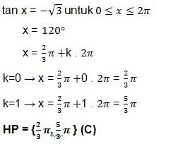 jawaban soal trigonometri 13