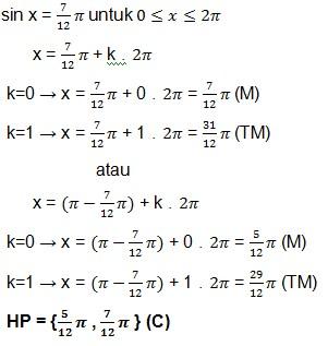 jawaban soal trigonometri 14