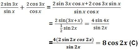 jawaban trigonometri no 25
