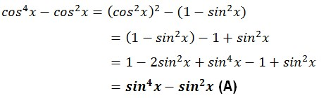 jawaban trigonometri no 29