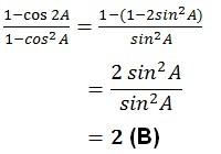 jawaban trigonometri no 30