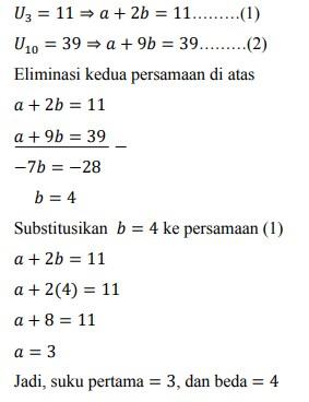 soal deret aritmatika no-23