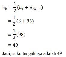 soal deret aritmatika no-24