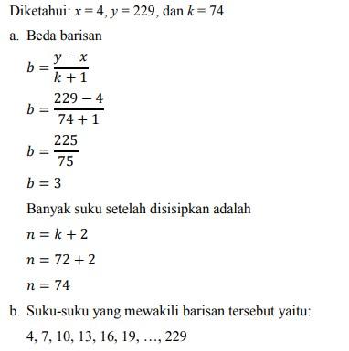 soal deret aritmatika no-32