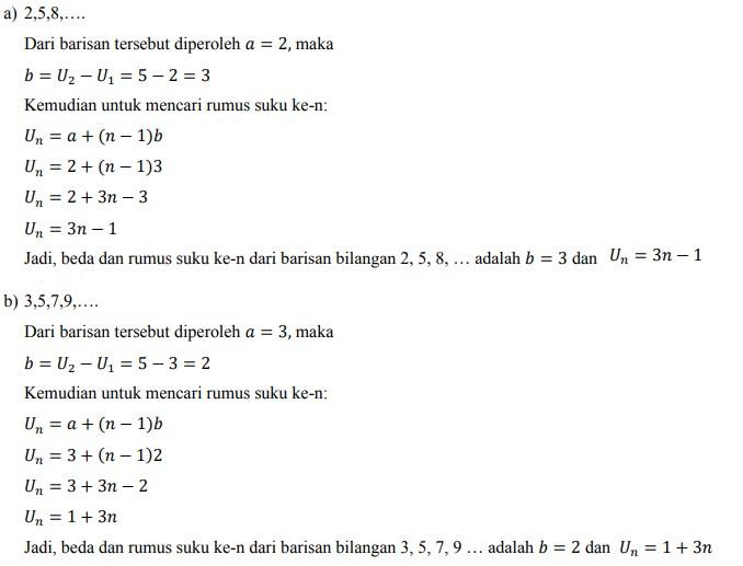 soal deret aritmatika no-33