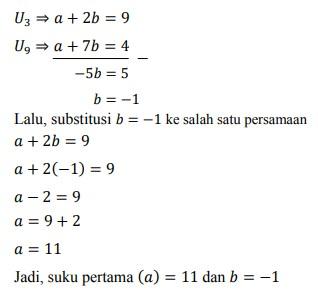 soal deret aritmatika no-34