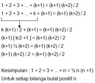 soal induksi matematika no 9-1