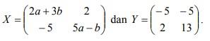 soal matriks no-25