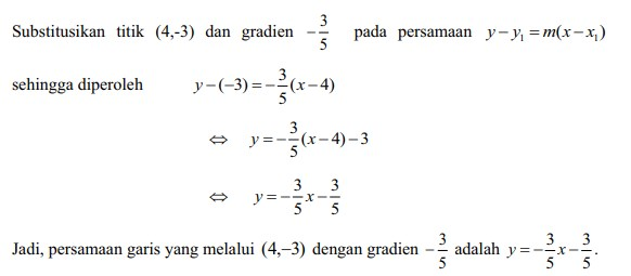 soal persamaan garis lurus no 14