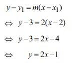 soal persamaan garis lurus no 19