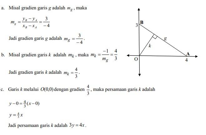 soal persamaan garis lurus no 25