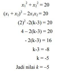 soal persamaan kuadrat nomor-33