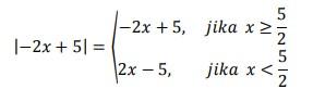 soal persamaan nilai mutlak 19