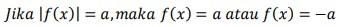 soal persamaan nilai mutlak 22-1