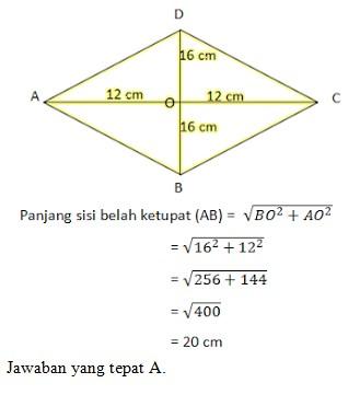 soal pythagoras no 9