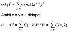 soal teorema binomial no 10