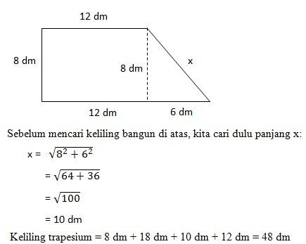 soal teorema phytagoras no 14-1