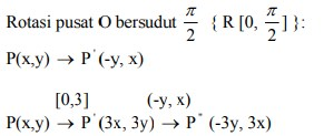 soal transformasi geometri dan jawaban no 11