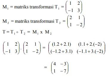 soal transformasi geometri dan jawaban no 4