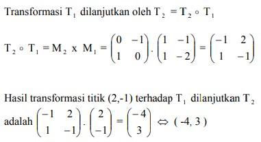 soal transformasi geometri dan jawaban no 5