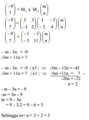 soal transformasi geometri dan jawaban no 8
