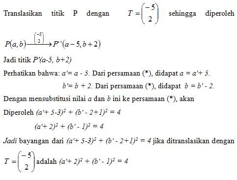 soal transformasi geometri no 13-1