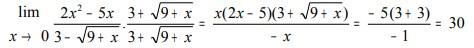 soal limit fungsi aljabar no 27-1
