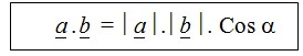 Perkalian Dua vektor