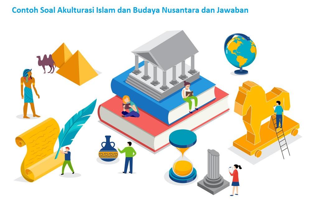 Contoh Soal Akulturasi Islam dan Budaya Nusantara dan Jawaban
