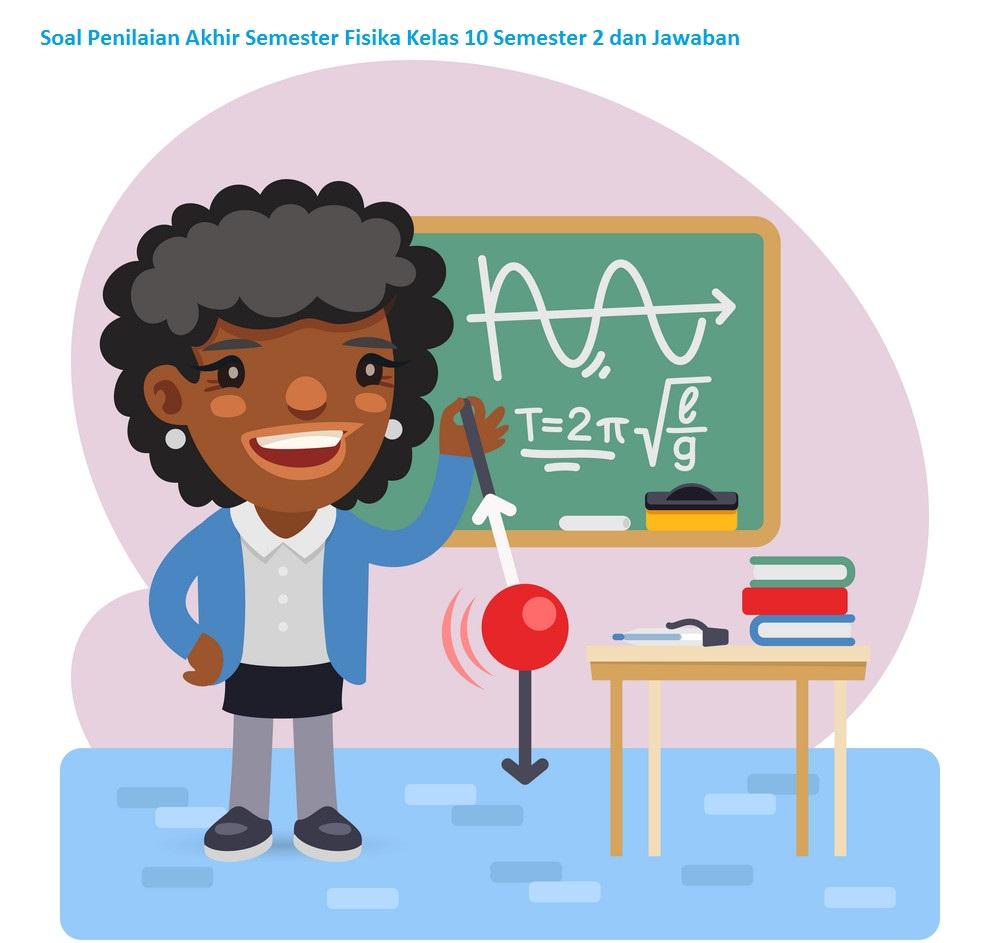 Soal Penilaian Akhir Semester Fisika Kelas 10 Semester 2 dan Jawaban